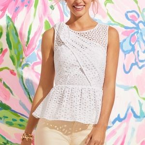 Lilly Pulitzer Tops - Lilly Pulitzer Diara Top